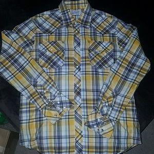True Religion Plaid shirt